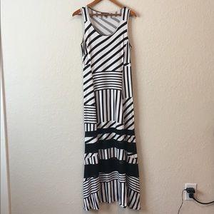 Peter Som Maxi sleeveless dress size M